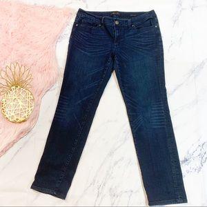Seven7 Dark Wash Skinny Jeans size 14